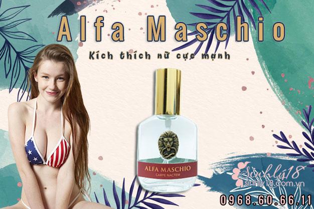 nước hoa kích thích phụ nữ cực mạnh Alfa Maschio