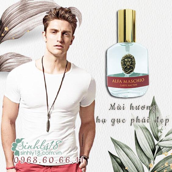 cách dùng nước hoa kích dục Alfa Maschio