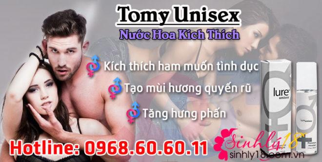 Công dụng nước hoa Tomy Unisex
