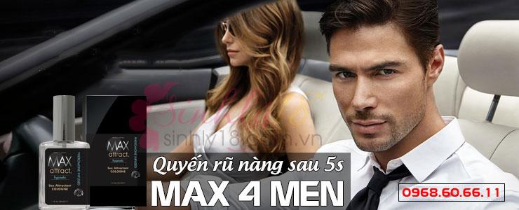 Nước hoa kích dục Max For Men