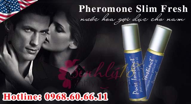 Pheromone được tìm thấy trong nước hoa kích dục