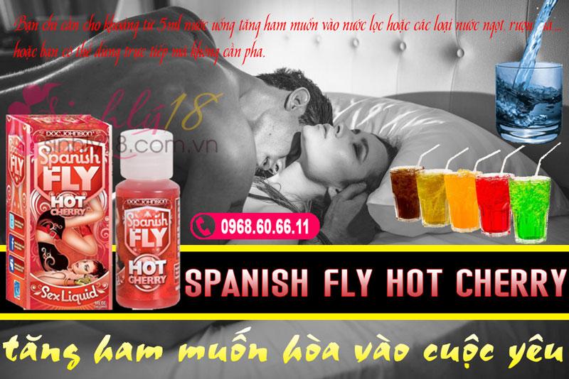 Spanish Fly Hot Cherry