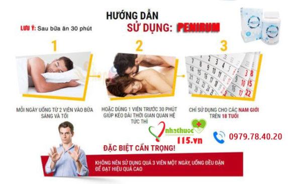 hướng dẫn cách sử dụng penirum