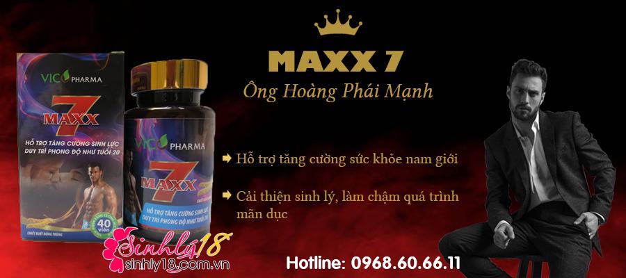giới thiệu maxx 7