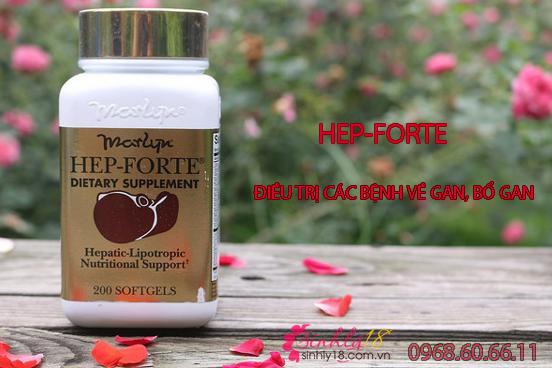 Giới thiệu sản phẩm viên uống bổ gan Hep Forte