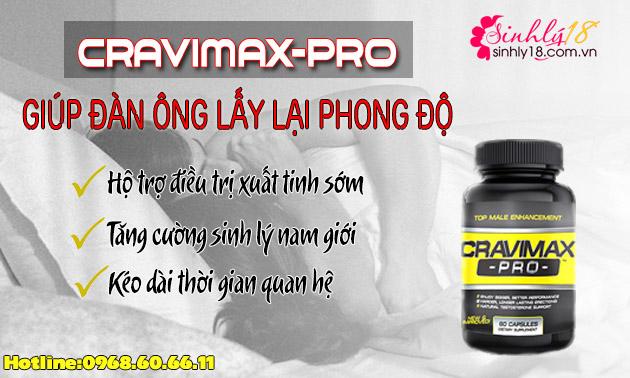 sản phẩm cravimax pro
