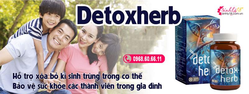 Công dụng Detoxherb
