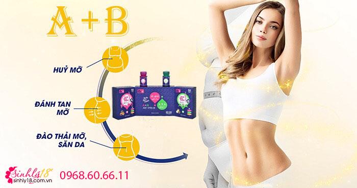 Công dụng của viên uống giảm cân AB