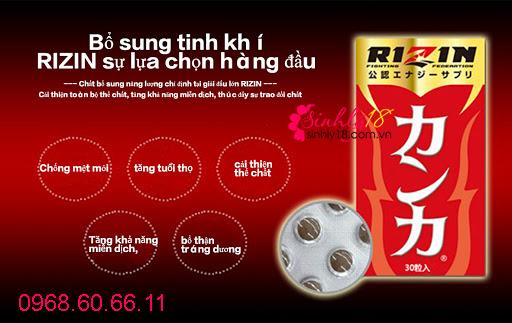 Quy trình sản xuất Rizin