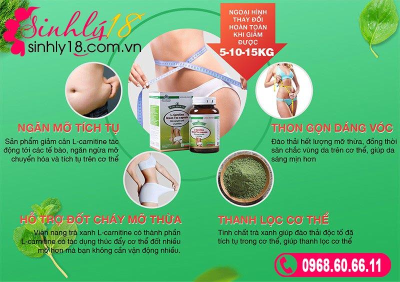 L-Carnitine Green Tea Capsule