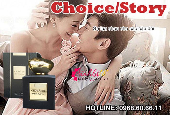 Chỉ định khi sử dụng nước hoa tình yêu Chois/STORY
