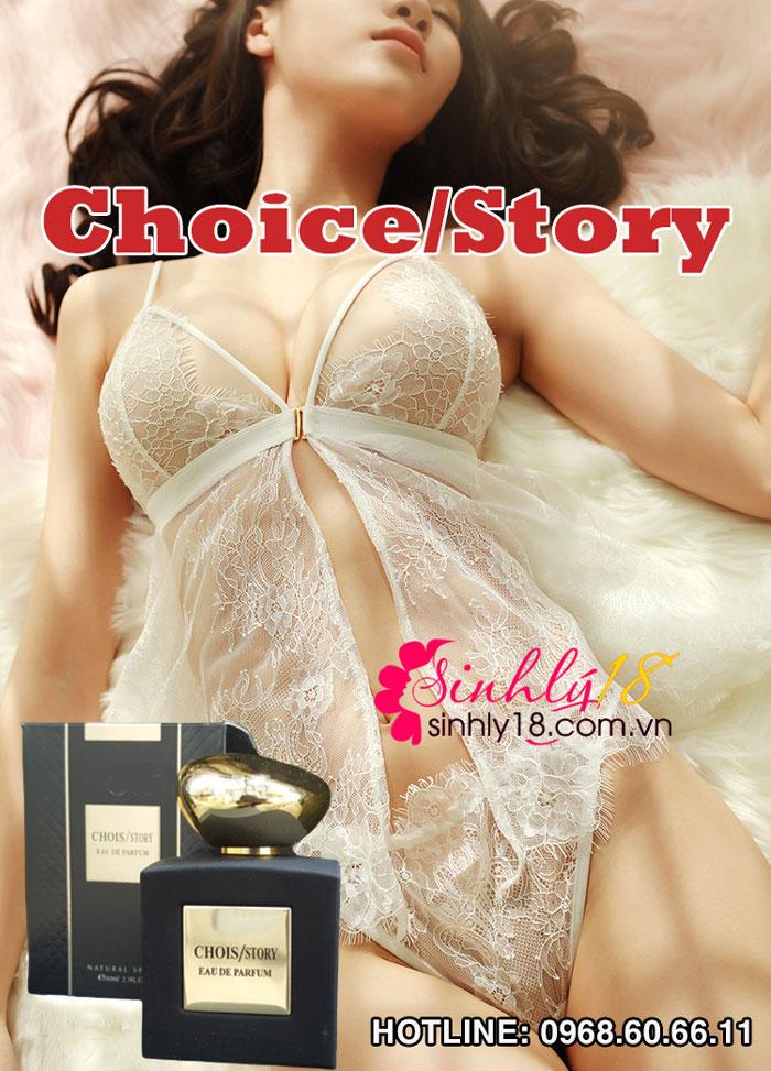 Công dụng nước hoa tình yêu Chois/STORY