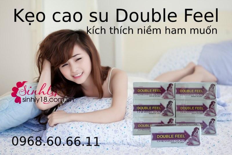 Kẹo kích thích tình dục nữ Singum Double Feel lên giường cực nhanh