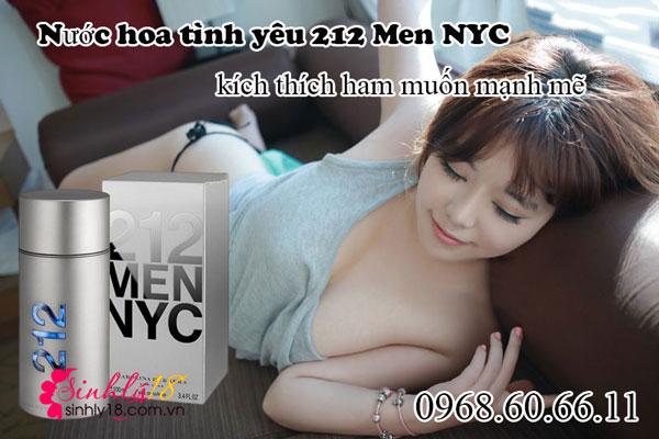 Nước hoa kích dục 212 Men NYC