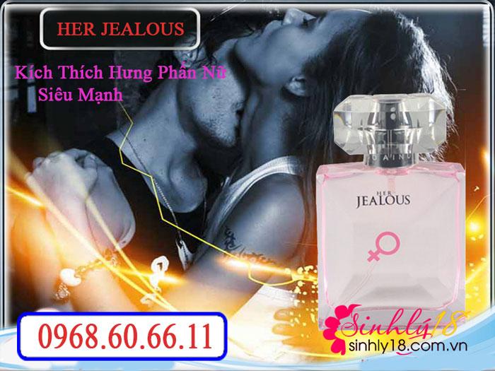 Nước hoa tình yêu Her Jealous kích thích hưng phấn nữ siêu mạnh