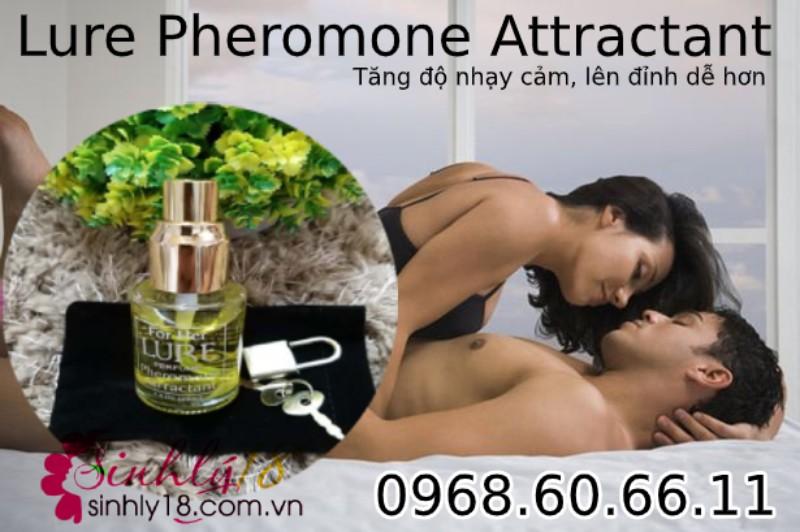 Nước hoa tăng khoái cảm tình dục Lure Pheromone Attractant