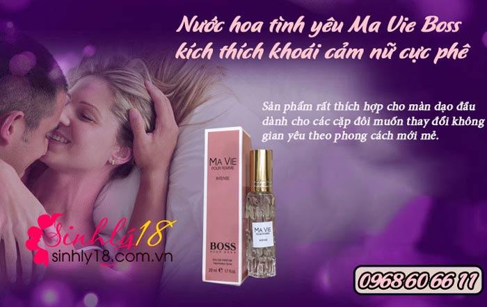 Ưu điểm của nước hoa tình yêu Ma Vie Boss