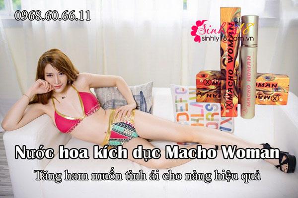 Nước hoa kích dục Macho Woman