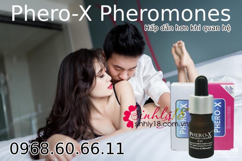 Nước hoa tăng khoái cảm tình dục nam và nữ cực mạnh Phero-X Pheromones