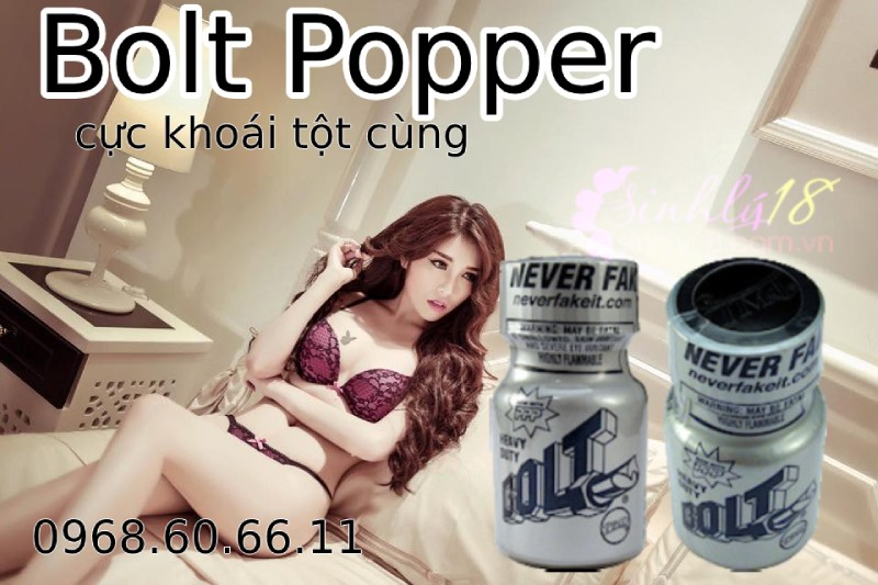 Nước hoa tăng khoái cảm tình dục nam và nữ siêu mạnh Bolt Popper
