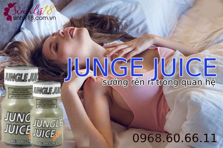 Nước hoa tăng khoái cảm tình dục nam và nữ siêu mạnh JUNGE JUICE