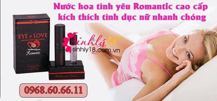 Nước hoa tình yêu Romantic cao cấp kích thích tình dục nữ nhanh chóng