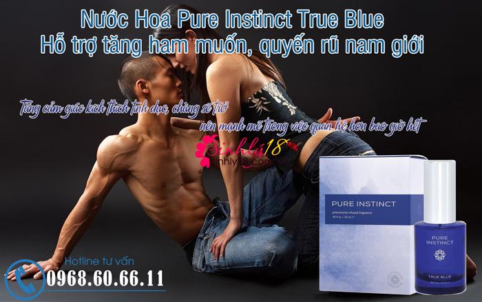 Nước Hoa Pure Instinct True Blue