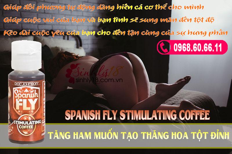 Spanish Fly Stimulating Coffee