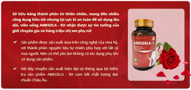amegela rx tác dụng phụ là gì