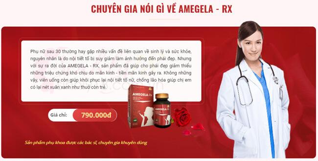 đánh giá chuyên gia amegela rx
