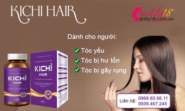 Đối tượng sử dụng Kichi Hair