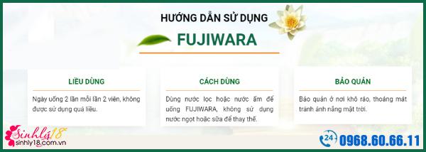 cách dùng fujiwara