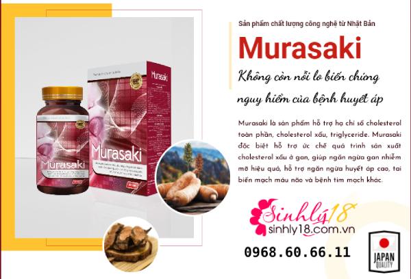 Giới thiệu đôi nét về viên uống Murasaki