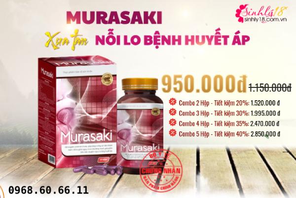Murasaki được bán giá bao nhiêu hiện nay?