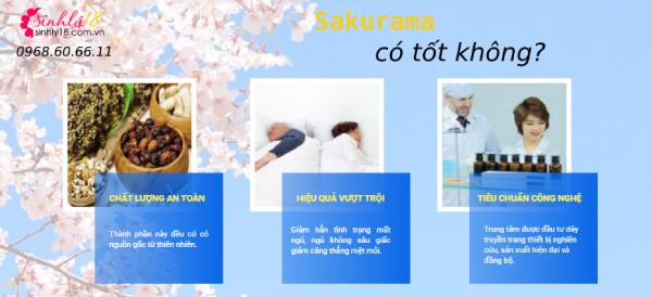 Có tốt không khi dùng Sakurama cải thiện giấc ngủ?