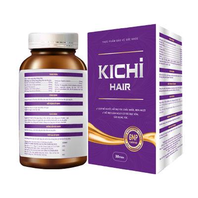 Viên uống giúp tóc chắc khỏe Kichi Hair