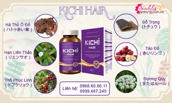 Thành phần của Kichi Hair
