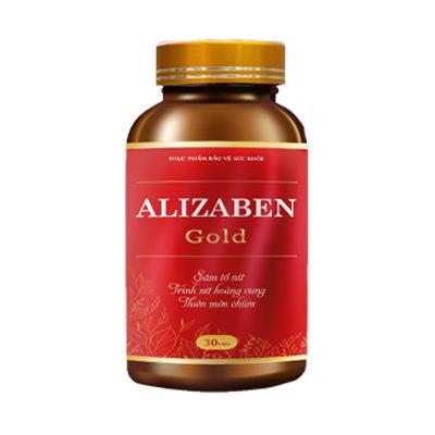 Viên uống cân bằng nội tiết tố nữ Alizaben Gold