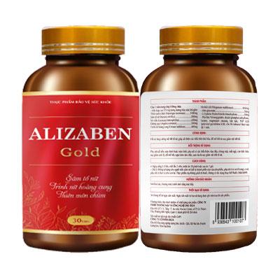 Sản phẩm cân bằng nội tiết tố Alizaben Gold