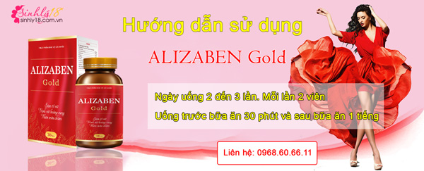 Hướng dẫn sử dụng Alizaben Gold