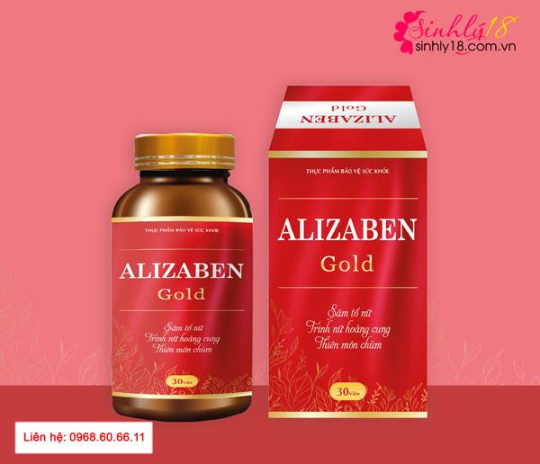 Alizaben Gold hỗ trợ tăng cường sinh lý nữ